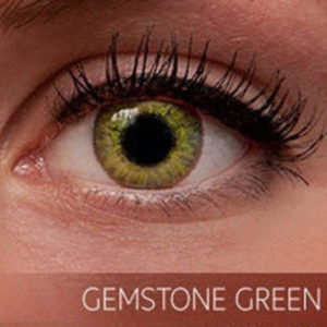 Freshlook Gemstone Green Contact Lenses - 5pair